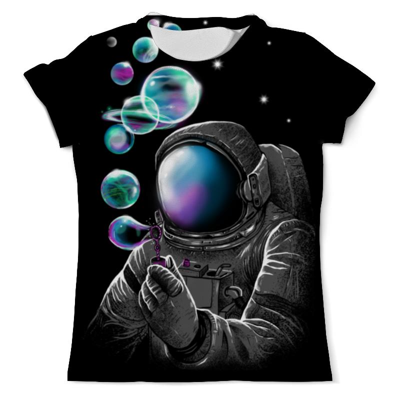 Футболка с полной запечаткой (мужская) Printio Космические пузыри