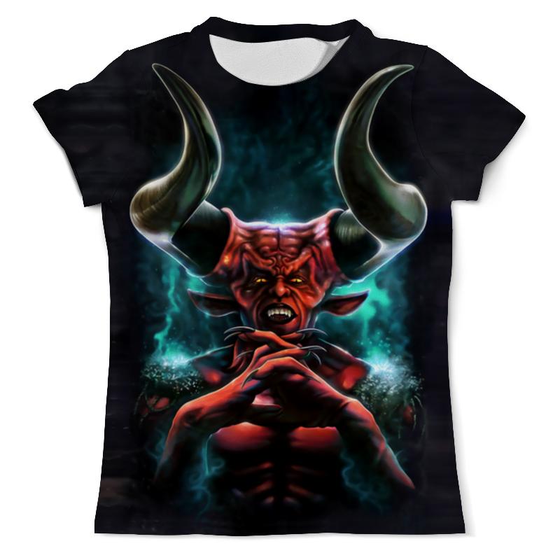 Футболка с полной запечаткой (мужская) Printio Devil in darkness футболка с полной запечаткой мужская printio мерч группы devil s secrets