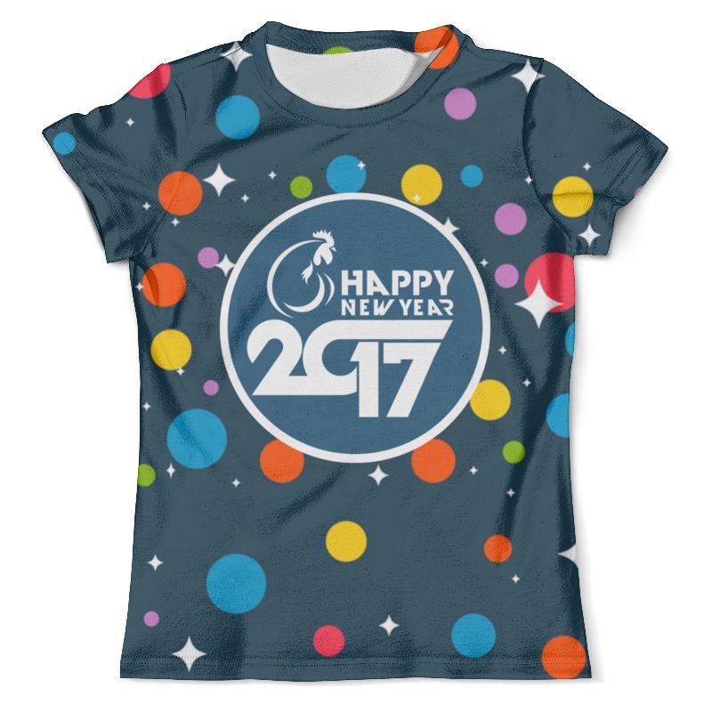 Футболка с полной запечаткой (мужская) Printio Happy new year 2017 футболка с полной запечаткой мужская printio chicken happy new year