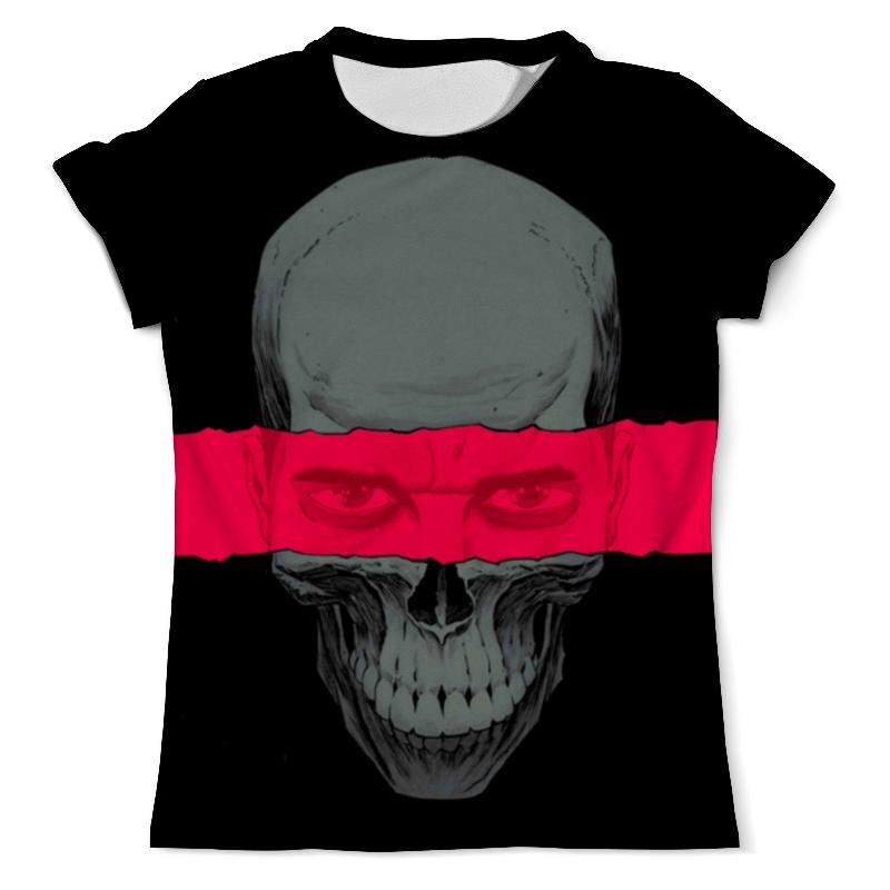 Футболка с полной запечаткой (мужская) Printio Skull face футболка с полной запечаткой мужская printio skull triangle