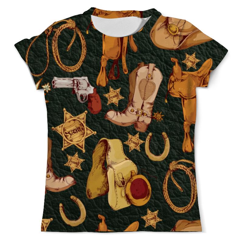 Printio Дикий запад футболка с полной запечаткой мужская printio дикий зверь