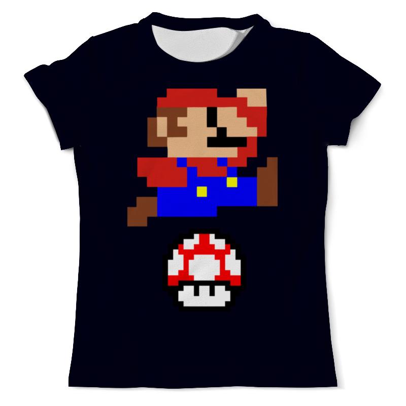Футболка с полной запечаткой (мужская) Printio Марио ( mario ) футболка с полной запечаткой мужская printio марио mario