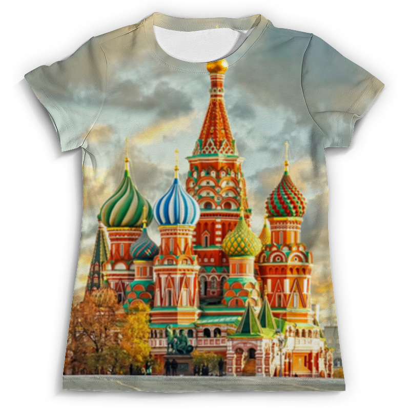 Футболка с полной запечаткой (мужская) Printio Москва (россия) футболка с полной запечаткой для мальчиков printio москва россия