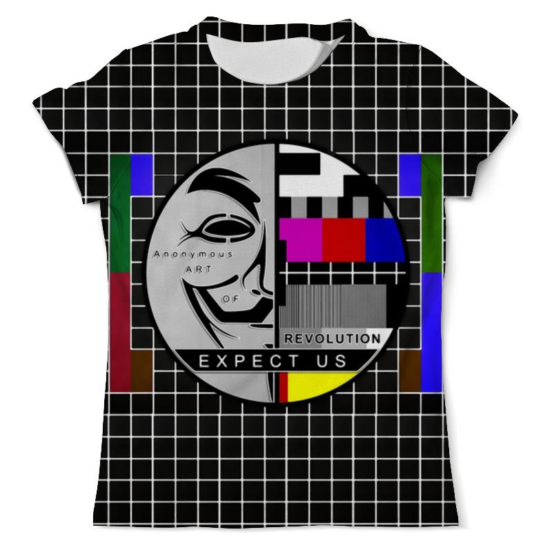 Футболка с полной запечаткой (мужская) Printio V for vendetta футболка с полной запечаткой мужская printio weapon v