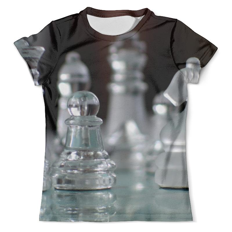 Футболка с полной запечаткой (мужская) Printio Шахматный дресскод костров в шахматный учебник для детеи и родителей 1 часть