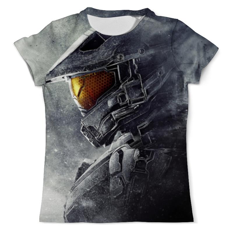 Футболка с полной запечаткой (мужская) Printio Halo 5 , игры , halo , хало