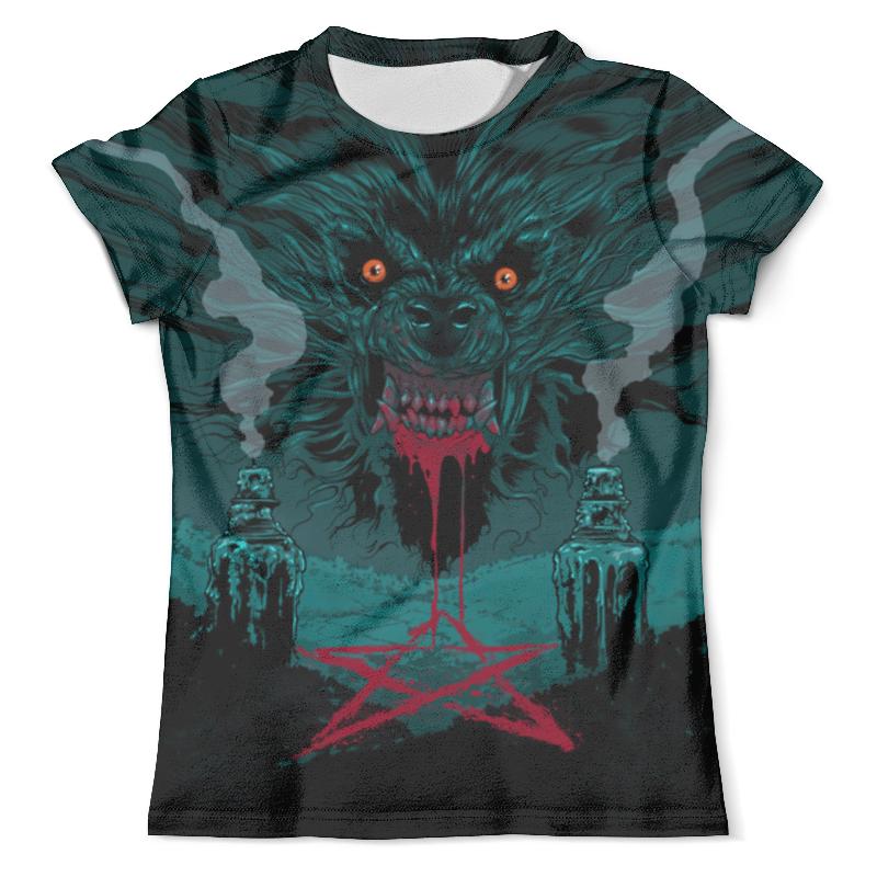 Футболка с полной запечаткой (мужская) Printio Werewolf design футболка с полной запечаткой для мальчиков printio werewolf