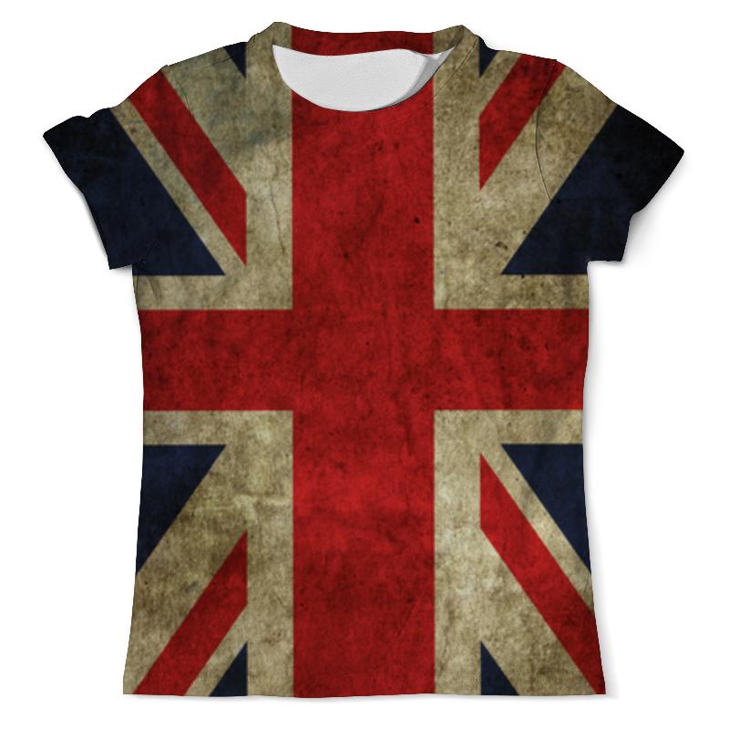 Printio Флаг британии футболка с полной запечаткой мужская printio тотемный голем totem golem