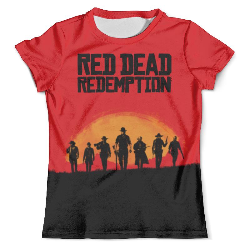 Футболка с полной запечаткой (мужская) Printio Red dead redemtion game сумка printio red dead redemtion game