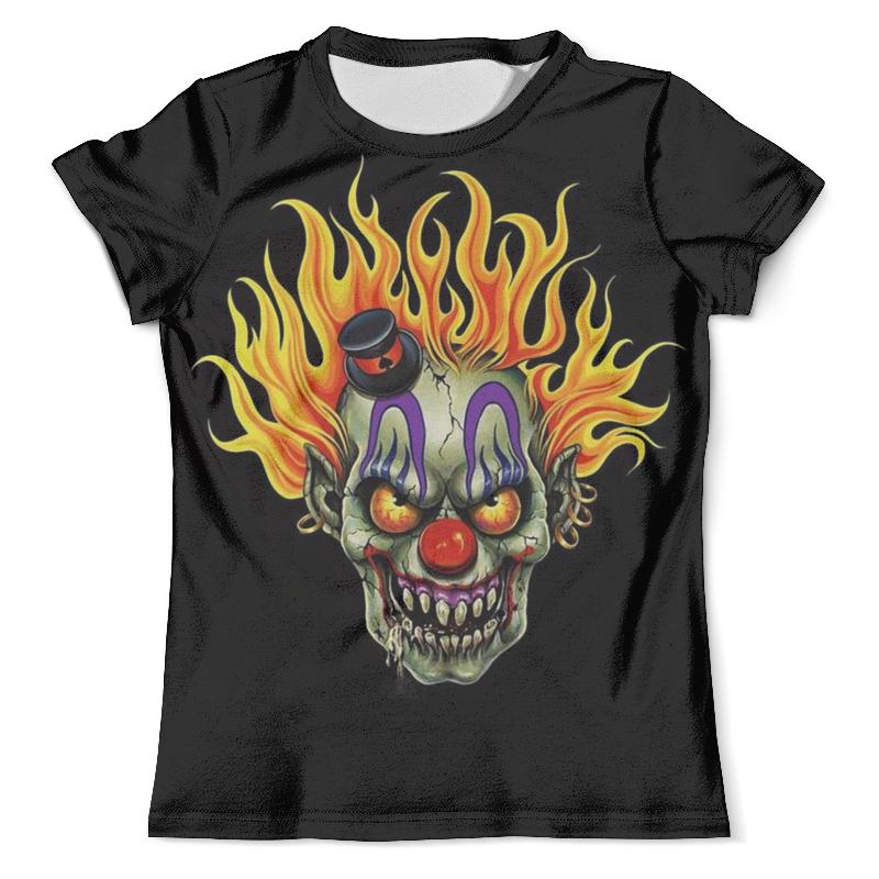Футболка с полной запечаткой (мужская) Printio Evil clown футболка evil dead