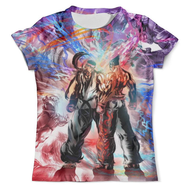 Футболка с полной запечаткой (мужская) Printio Street fighter футболка с полной запечаткой мужская printio street of rage