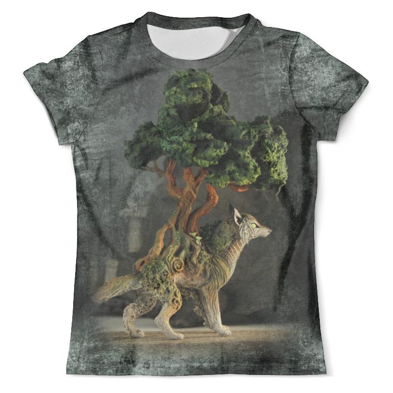 Футболка с полной запечаткой (мужская) Printio Волк-бонсай азарра футболка с полной запечаткой мужская printio красная шапочка и серый волк