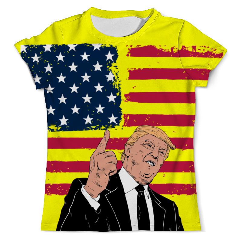 Футболка с полной запечаткой (мужская) Printio Дональд трамп