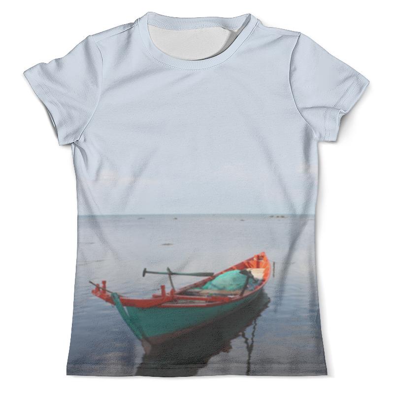 Футболка с полной запечаткой (мужская) Printio Рыбацкая лодка платье без рукавов printio семейная лодка