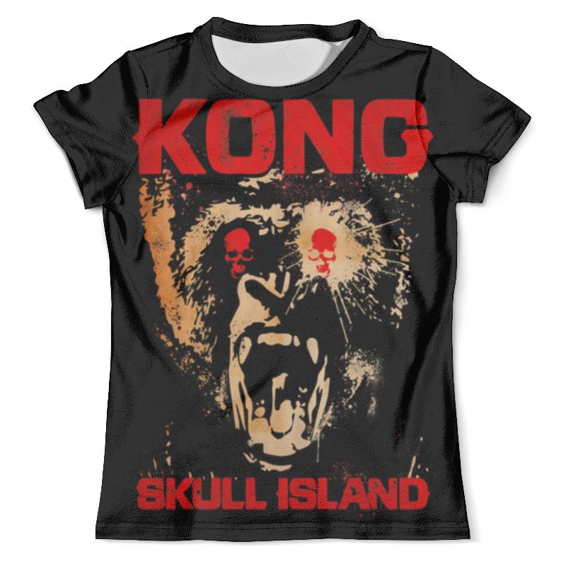 Футболка с полной запечаткой (мужская) Printio Kong skull island
