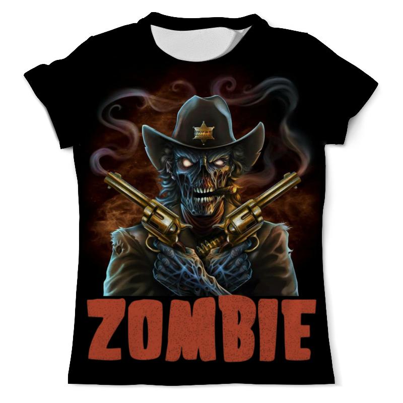 Футболка с полной запечаткой (мужская) Printio Zombie sheriff футболка с полной запечаткой мужская printio zombie ice