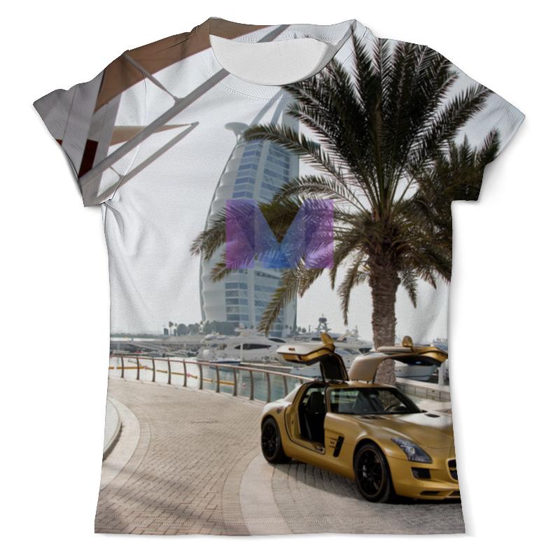 Футболка с полной запечаткой (мужская) Printio Дубаи