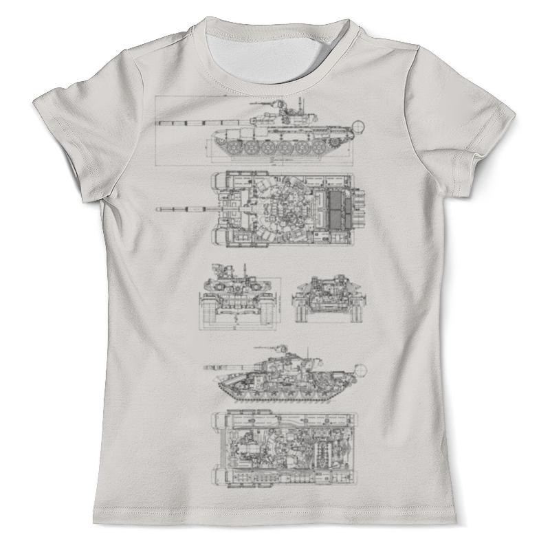 Футболка с полной запечаткой (мужская) Printio Т-90 world of tanks хэтфилд т world of tanks боевое руководство командира танка