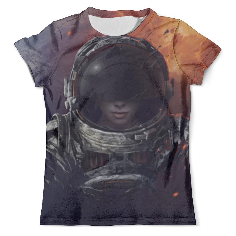 Футболка с полной запечаткой (мужская) Printio Космос футболка с полной запечаткой мужская printio фрактальная эзотерика мандалы