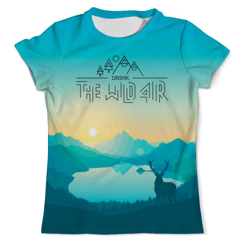Printio Дикий воздух футболка с полной запечаткой мужская printio дикий зверь