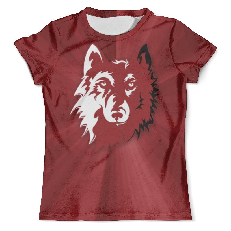 Футболка с полной запечаткой (мужская) Printio Волк арт (1) футболка с полной запечаткой мужская printio орел арт 1