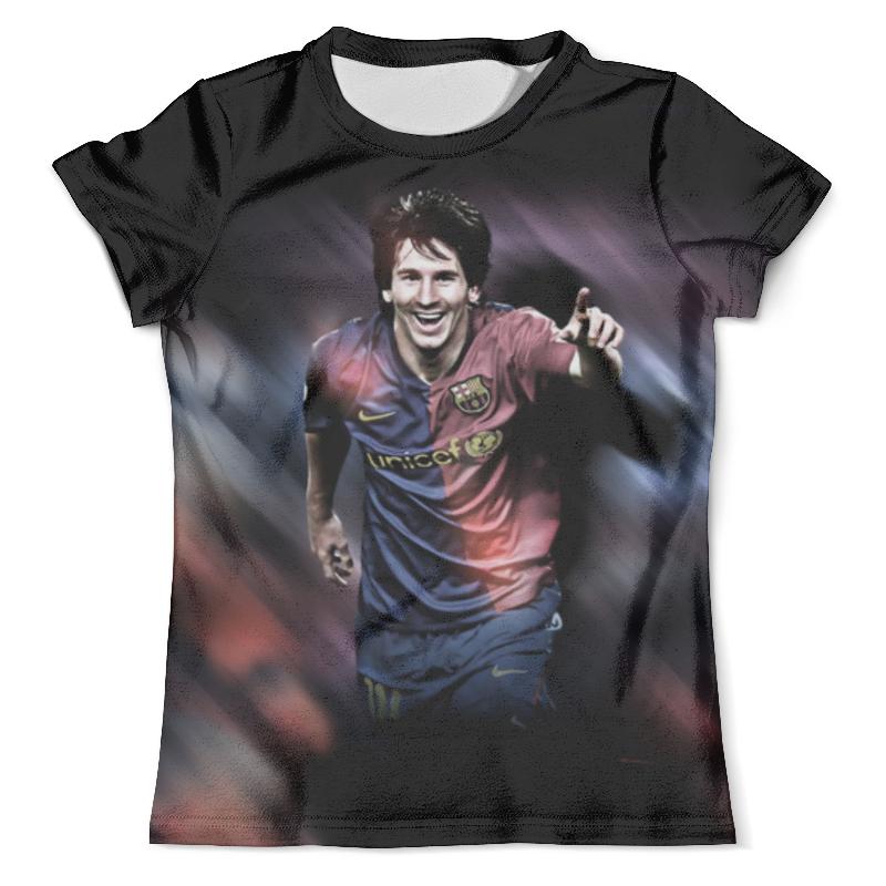 Футболка с полной запечаткой (мужская) Printio Lionel messi (1) футболка с полной запечаткой мужская printio messi