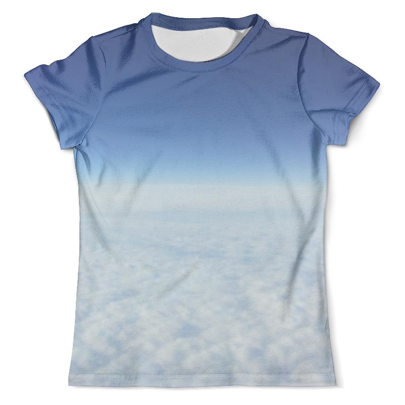Футболка с полной запечаткой (мужская) Printio Небесная синева небесная канцелярия небесная канцелярия эфир