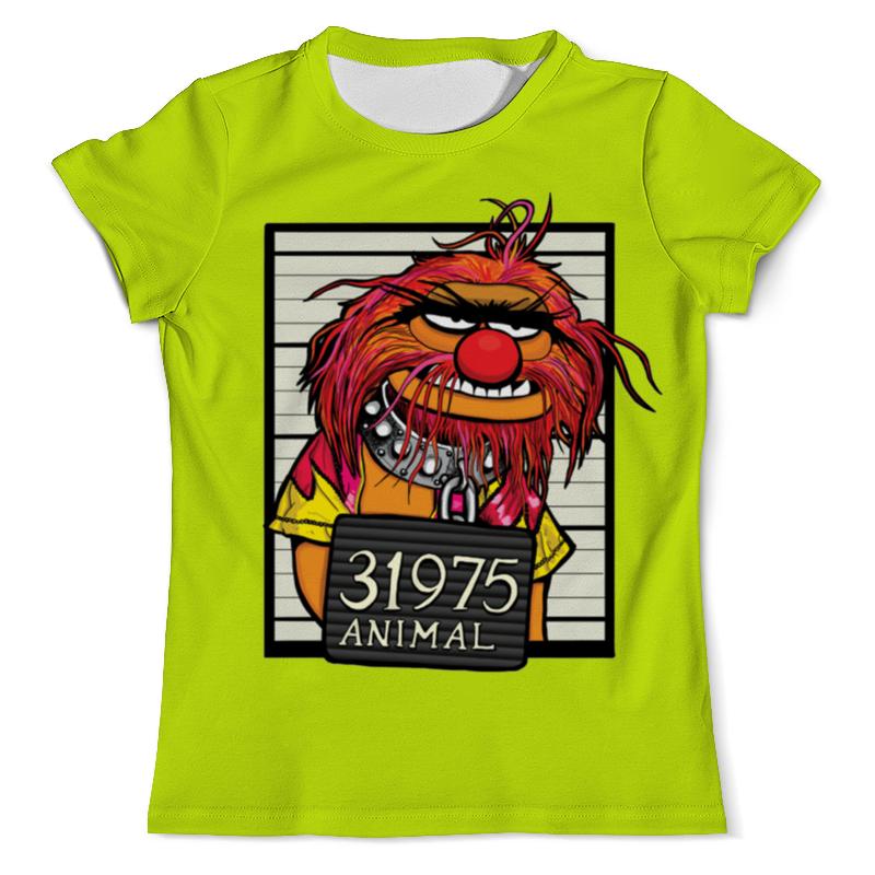 Футболка с полной запечаткой (мужская) Printio Animal футболка print bar animal power