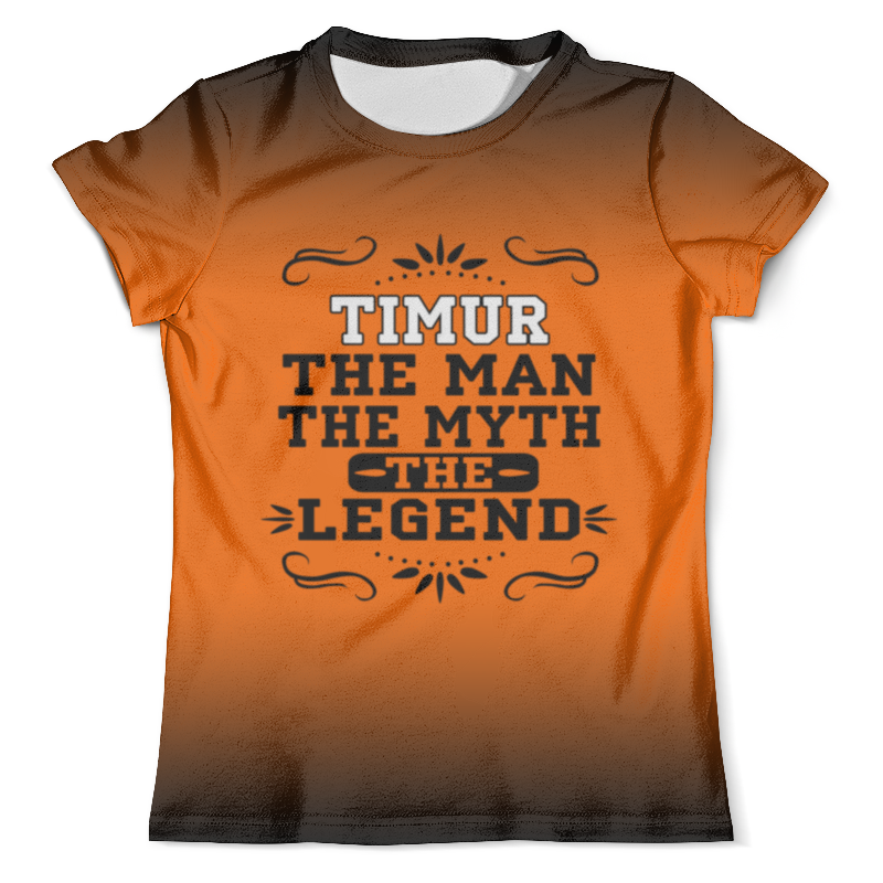 Футболка с полной запечаткой (мужская) Printio Тимур the legend футболка с полной запечаткой для мальчиков printio тимур the legend