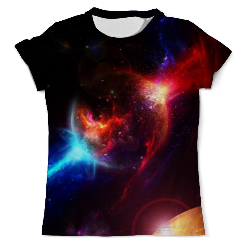 Футболка с полной запечаткой (мужская) Printio Космос футболка с полной запечаткой мужская printio абстрактная живопись