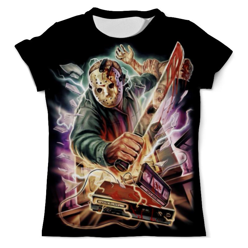 Футболка с полной запечаткой (мужская) Printio Friday the 13th футболка с полной запечаткой для мальчиков printio friday the 13th