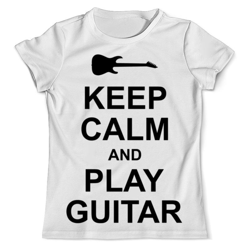 Футболка с полной запечаткой (мужская) Printio Guitar футболка с полной запечаткой мужская printio old man guitar