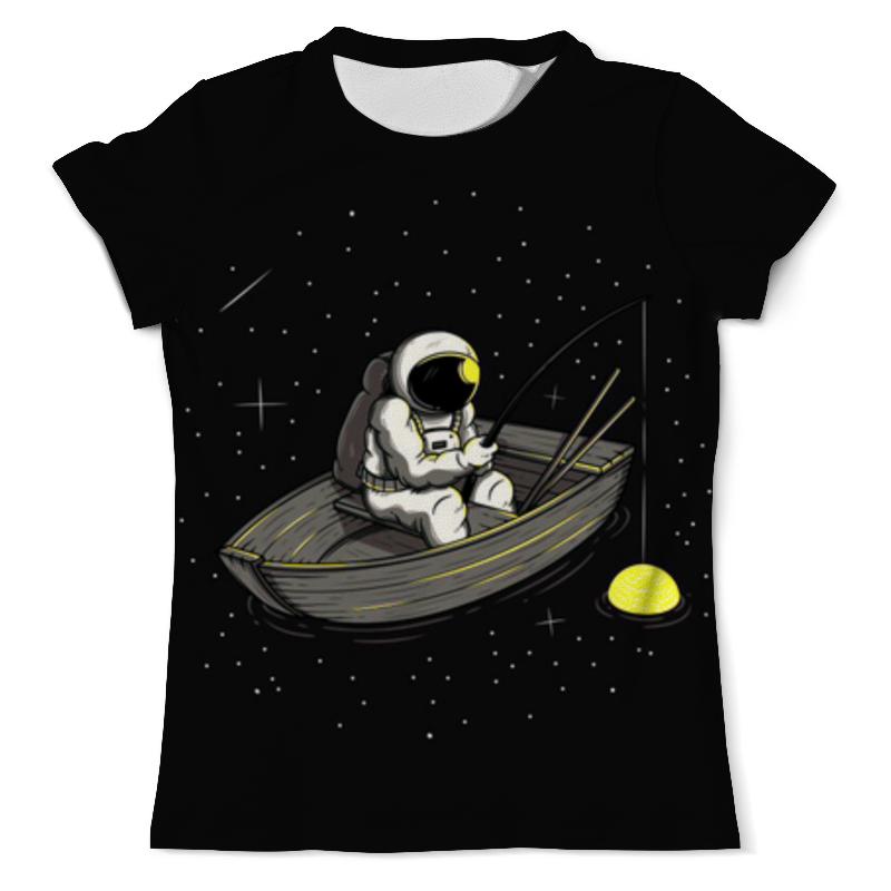 Printio Космическая рыбалка футболка с полной запечаткой мужская printio космическая пыль