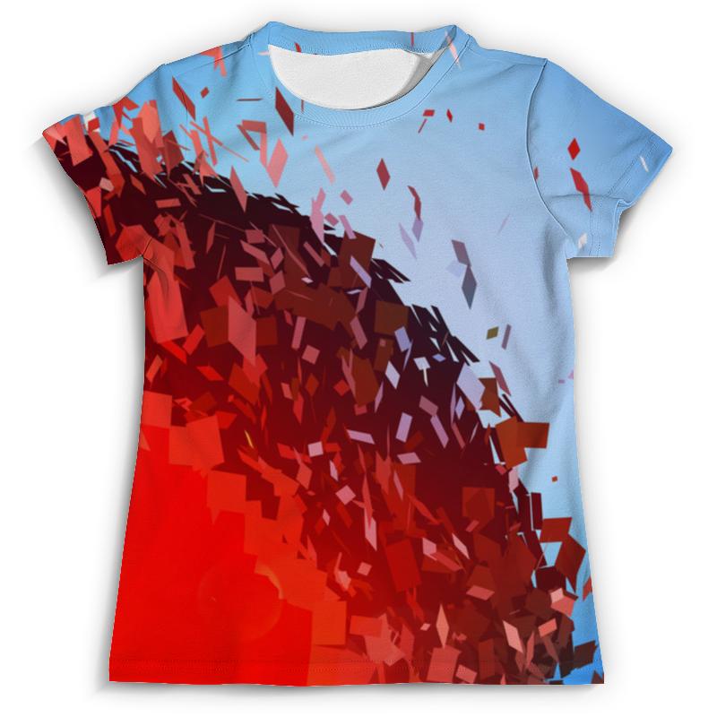 Футболка с полной запечаткой (мужская) Printio Абстракция футболка с полной запечаткой мужская printio оранжевая абстракция page 10