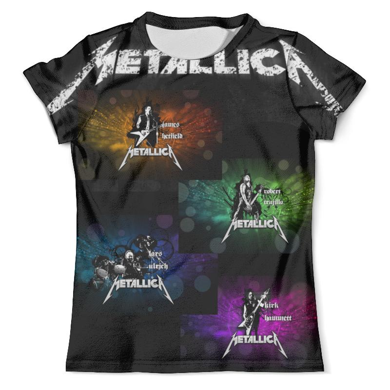 Футболка с полной запечаткой (мужская) Printio Metallica футболка с полной запечаткой мужская printio сара керриган старкрафт