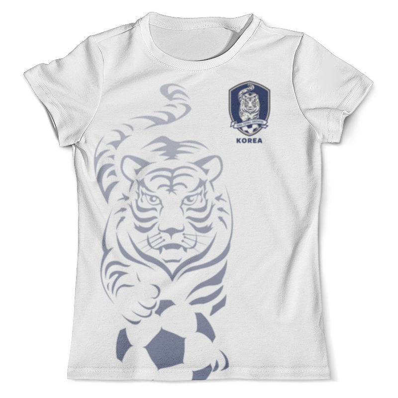 Футболка с полной запечаткой (мужская) Printio Сборная кореи