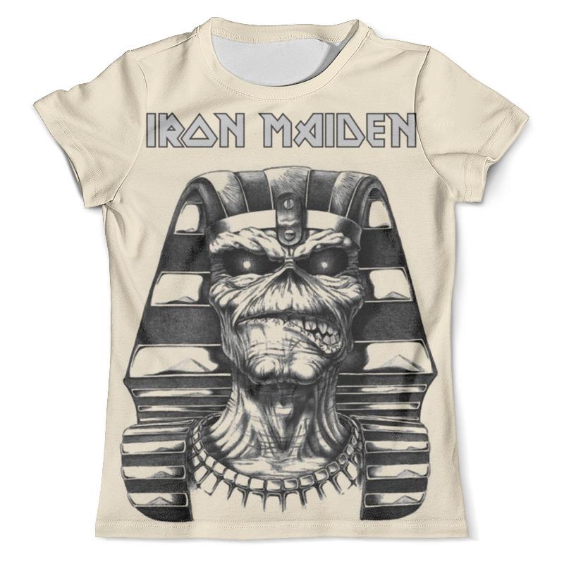 Футболка с полной запечаткой (мужская) Printio Iron maiden band cd iron maiden a matter of life and death