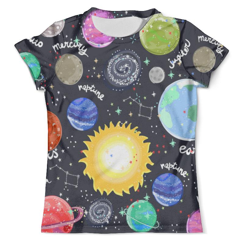 Футболка с полной запечаткой (мужская) Printio Планеты футболка print bar планеты