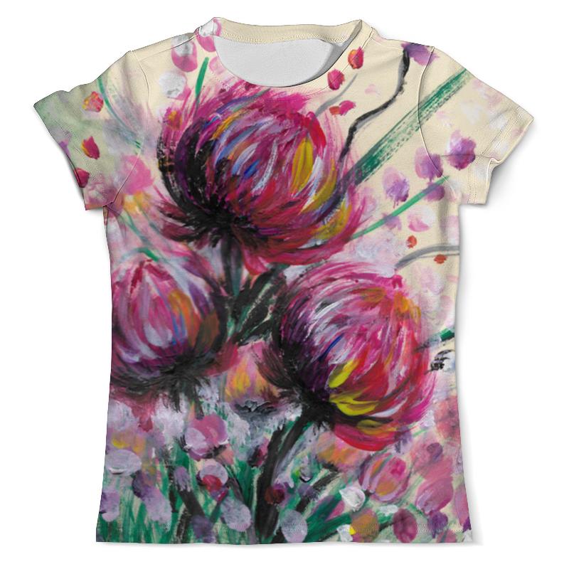 Printio Розовые хризантемы футболка с полной запечаткой мужская printio розовые хризантемы