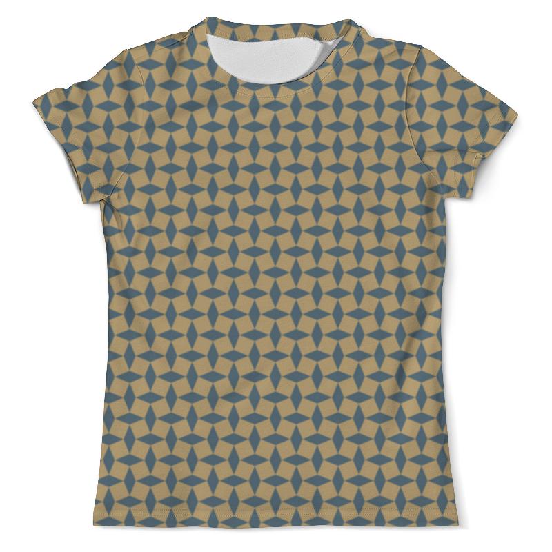 Printio Геометрический орнамент футболка с полной запечаткой мужская printio голубой геометрический узор