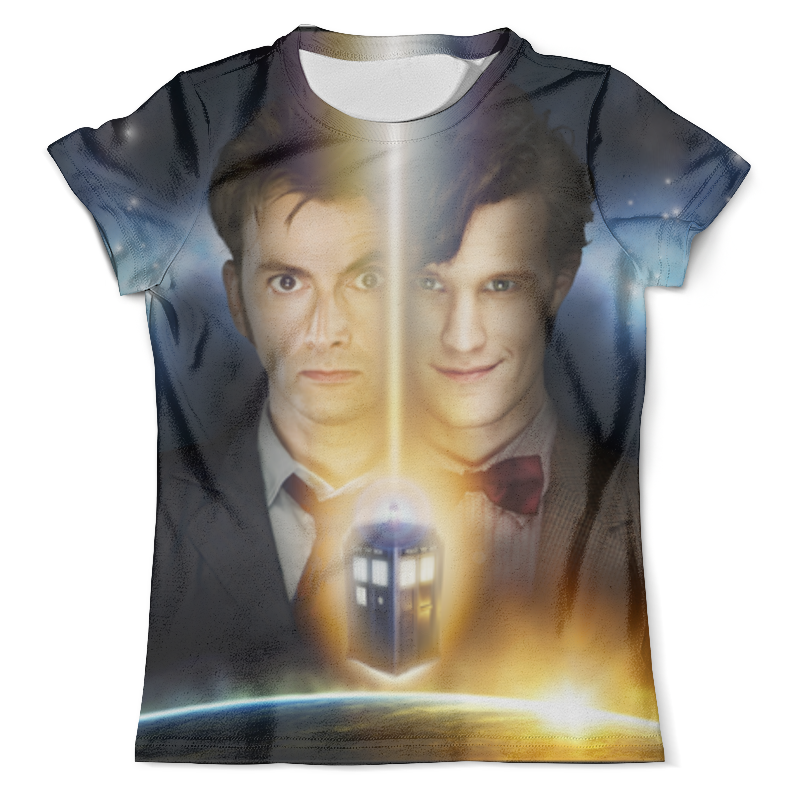Футболка с полной запечаткой (мужская) Printio Доктор кто (doctor who) doctor who archives prisoners of time omnibus