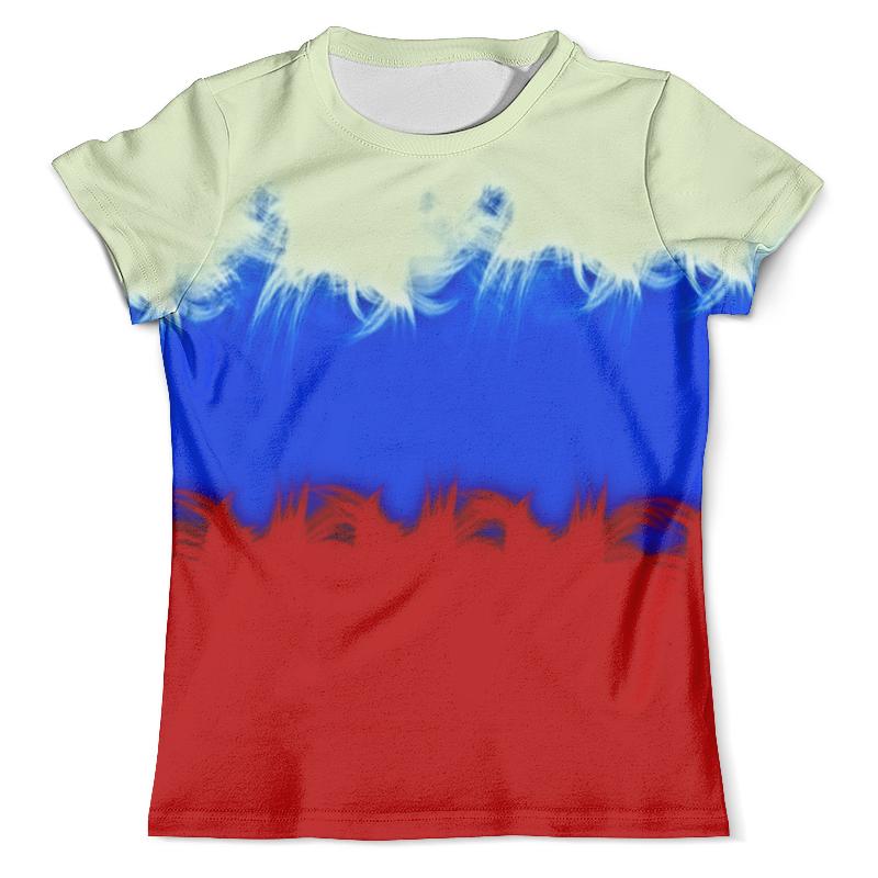 Футболка с полной запечаткой (мужская) Printio Россия футболка с полной запечаткой мужская printio фрактальная эзотерика мандалы