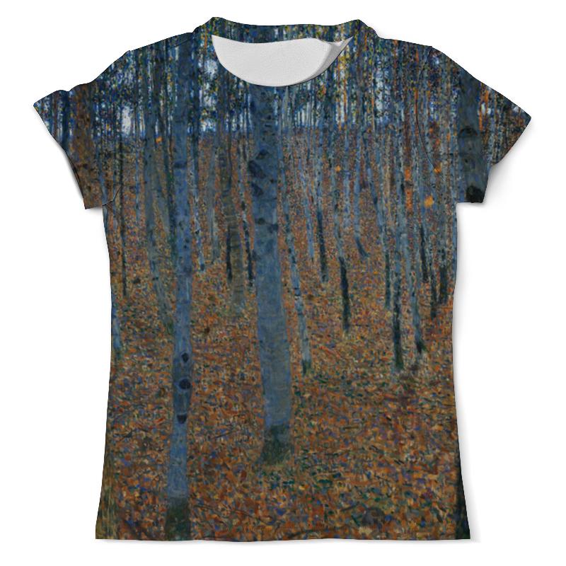 Printio Буковая роща i (густав климт) футболка с полной запечаткой мужская printio большой тополь ii густав климт