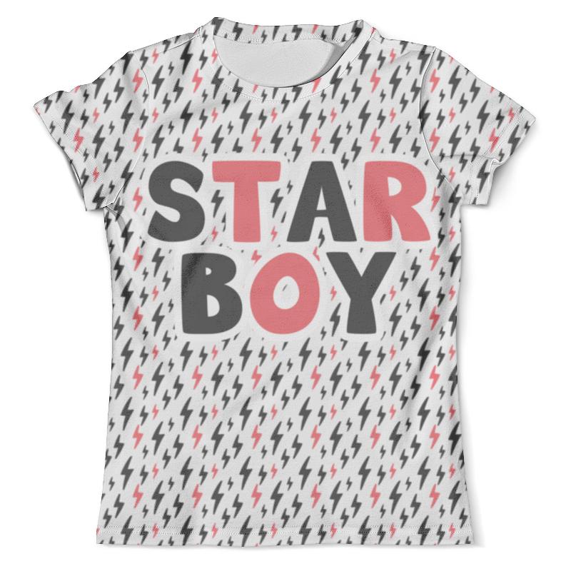 Футболка с полной запечаткой (мужская) Printio Starboy футболка с полной запечаткой мужская printio мерч группы devil s secrets