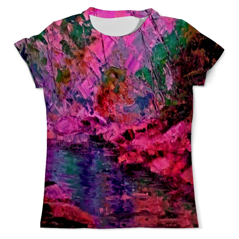Футболка с полной запечаткой (мужская) Printio Краски лета футболка с полной запечаткой женская printio цветение лета