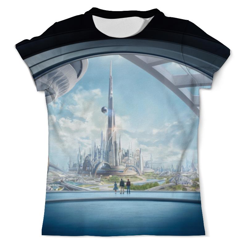 Футболка с полной запечаткой (мужская) Printio Земля будущего футболка земля воинов