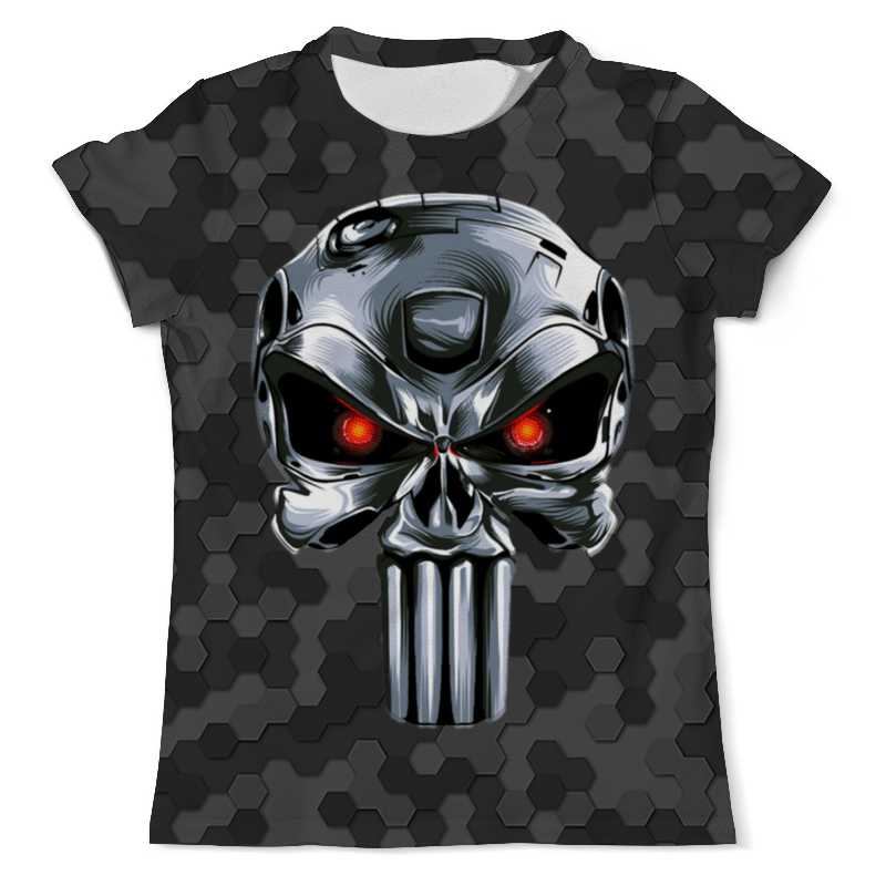 Printio Terminator design (the punisher) футболка с полной запечаткой мужская printio punisher of the future terminator