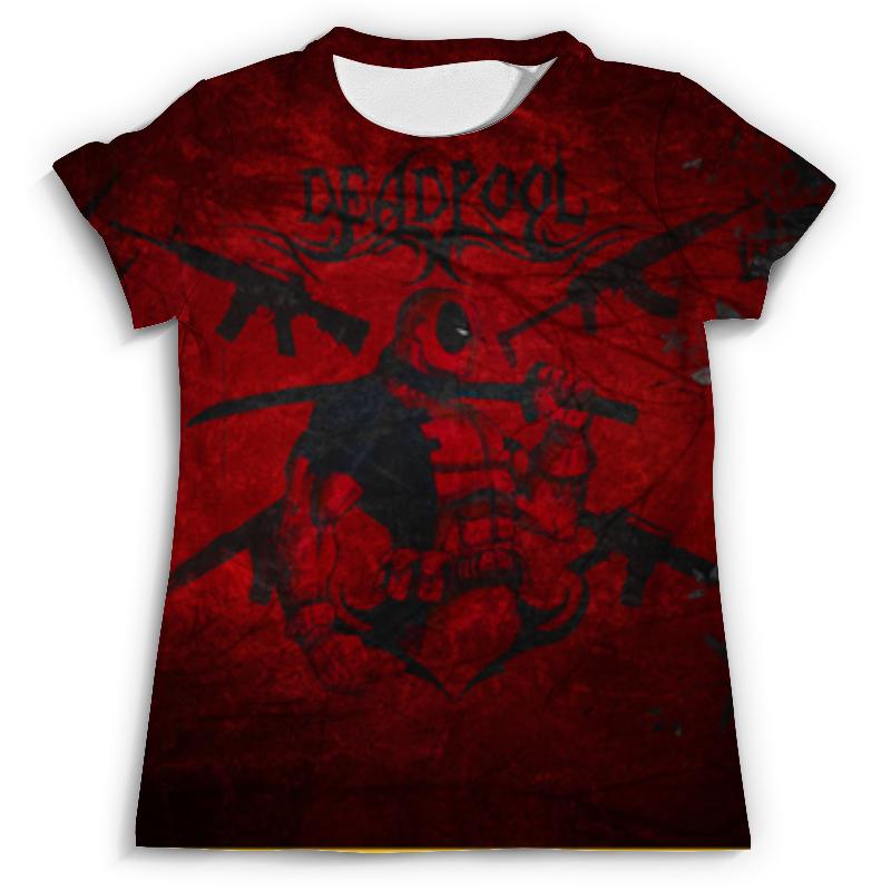 Футболка с полной запечаткой (мужская) Printio Deadpool футболка с полной запечаткой мужская printio сара керриган старкрафт