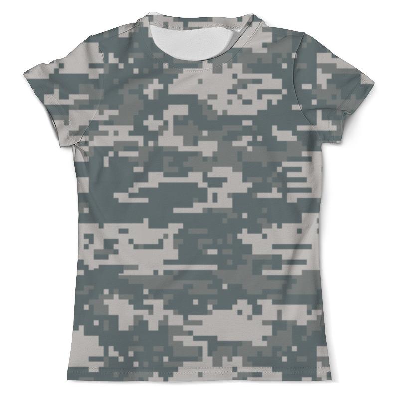Футболка с полной запечаткой (мужская) Printio Камуфляж (цифра) футболка камуфляж