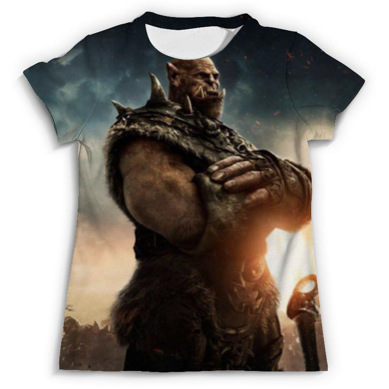 Футболка с полной запечаткой (мужская) Printio World of warcraft футболка для беременных printio world of warcraft